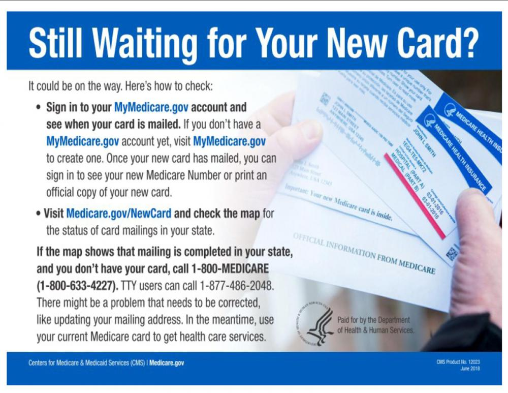 Do you need to order a new Medicare Insurance Card?